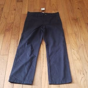 TCP navy chino dress pants boys 6 new w tags